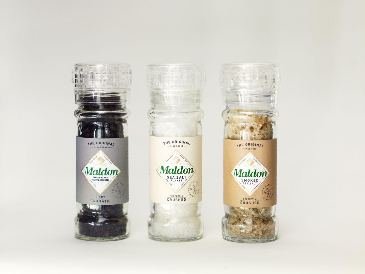 Sea Salt & Black Peppercorn Grinders - Belgravia Imports